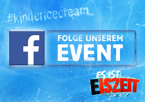 Kinder Ice Cream Frozen Store Facebook Event